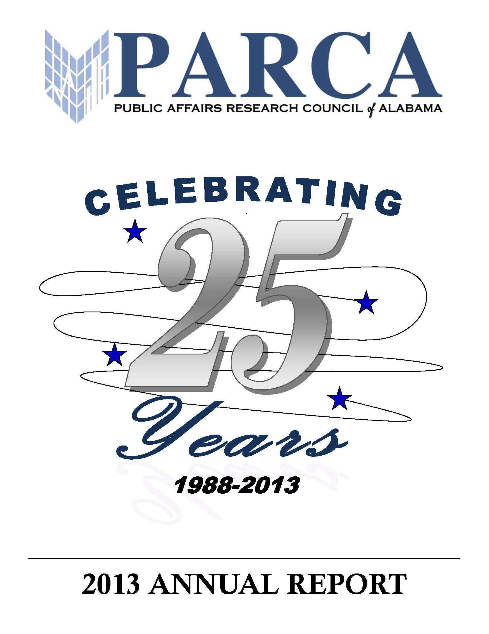 2013 PARCA Annual Report